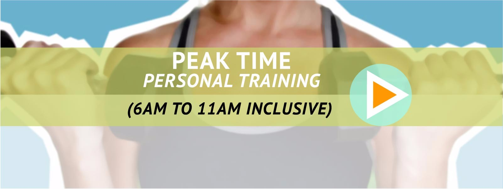 Peak time Personal training with James at Viridian